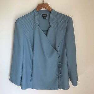 Leslie Fay double breasted blazer size 20WP